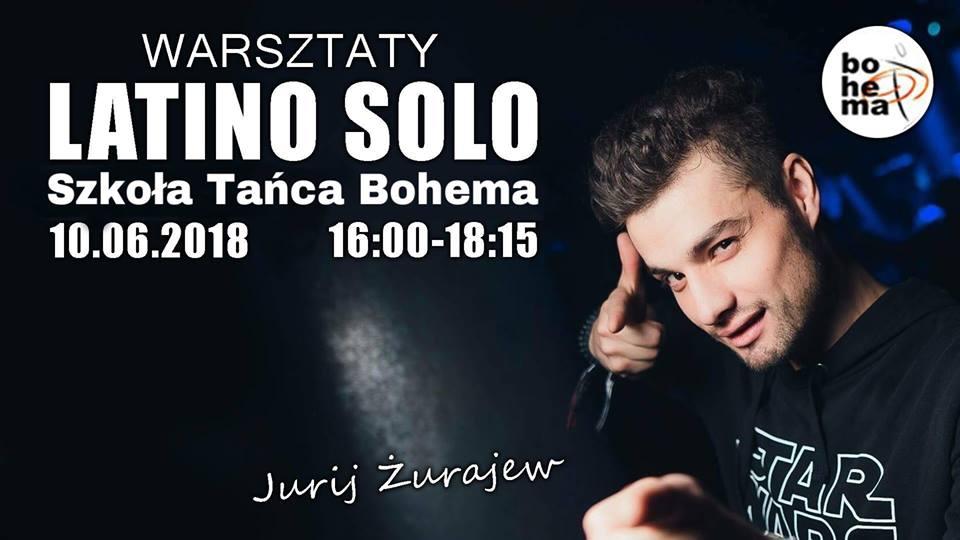 Warsztaty Latino solo z Jurijem Żurajewem