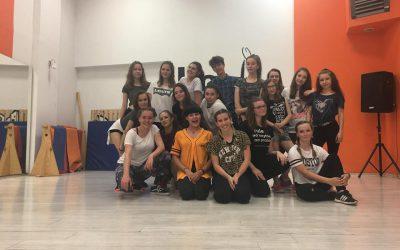 Warsztaty taneczne z Magda Medżik Mieczkowska 26.05.2018
