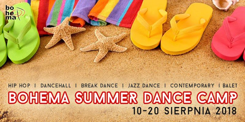 BOHEMA SUMMER DANCE CAMP 2018
